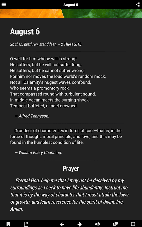Daily Prayer Guide