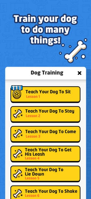 Dog Whistle to Train Your Dog app