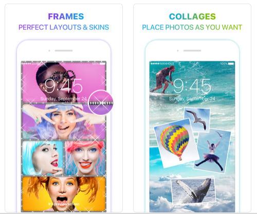 Magic screen customize your lock and home wallpaper screen