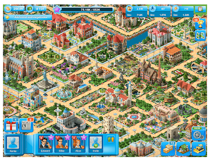Megapolis screen