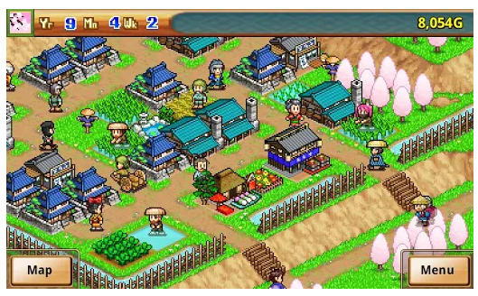 Ninja village screen