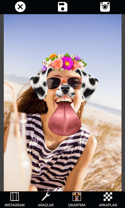 Photo Collage Editor Selfie Camera Filter Sticker