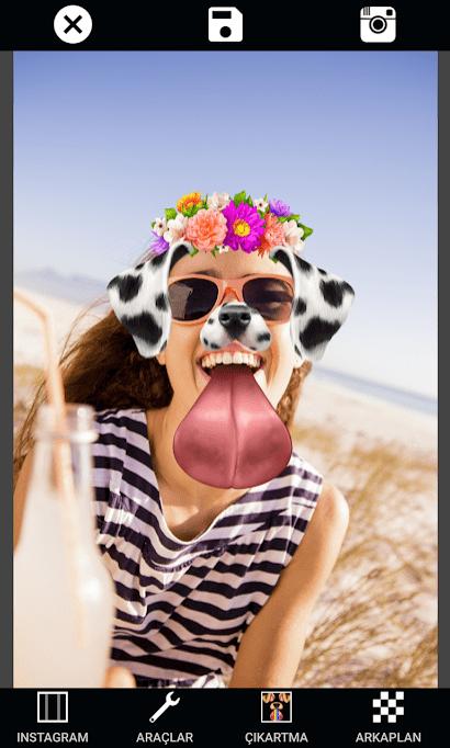 Photo Collage Editor Selfie Camera Filter Sticker