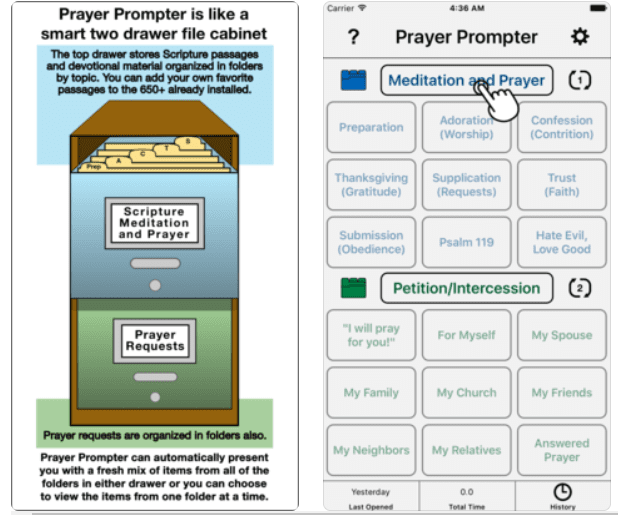 Prayer Prompter
