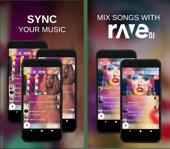 Rave screen