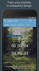 Sobriety Tracker Clock