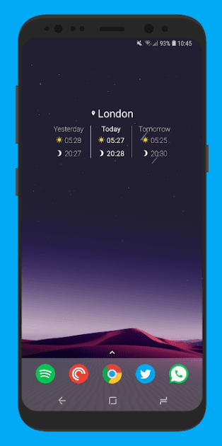 Sunrise Companion app