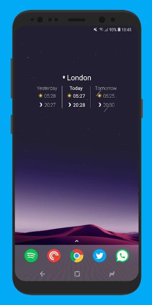 Sunrise Companion app