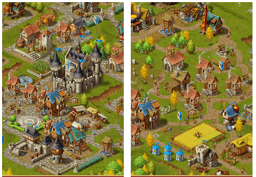 Townsmen screen