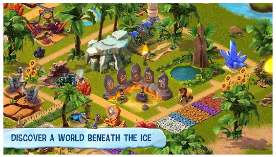 ice age village screen