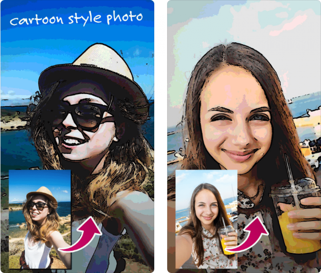 Cartoon Selfie Camera