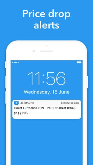 Cheap flights — Jetradar app