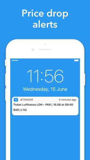 Cheap flights — Jetradar app