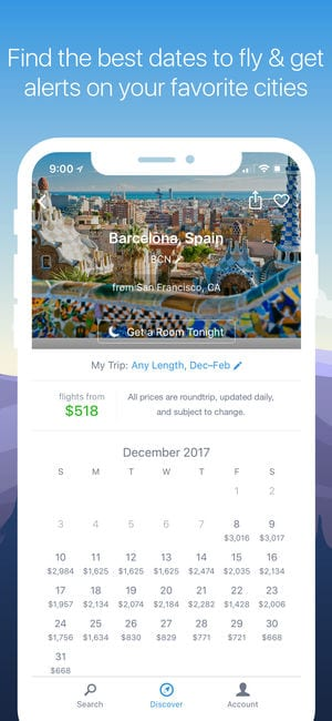 Hipmunk Hotels & Flights app