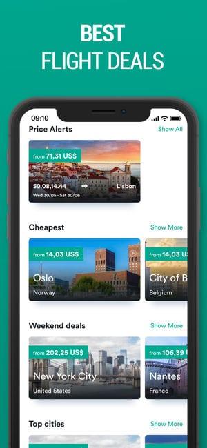 Kiwi.com app