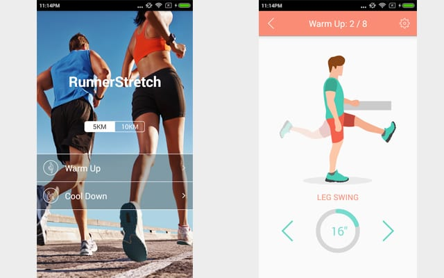 runnerstretch app