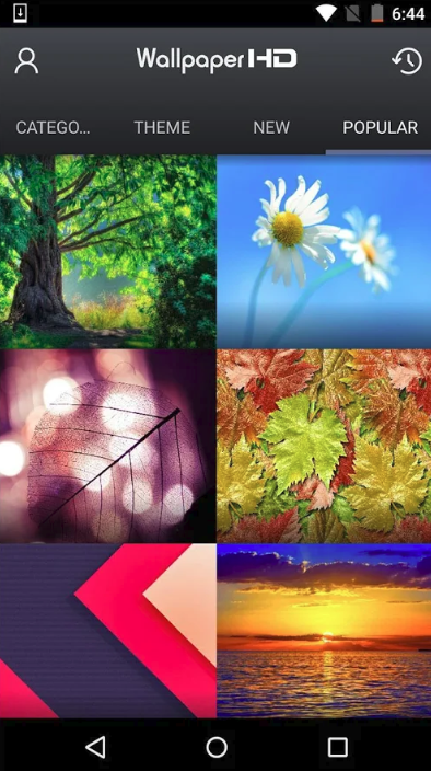 Backgrounds (HD Wallpapers) app