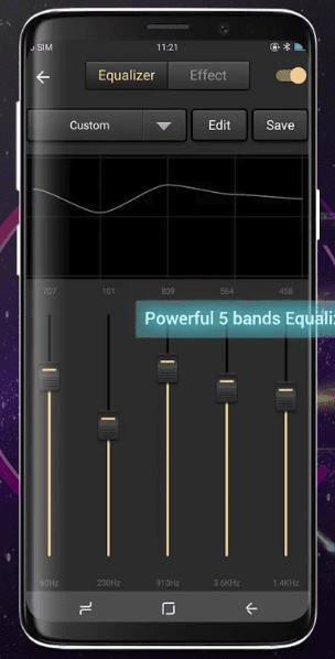 Bass Booster &EQ Music Player app