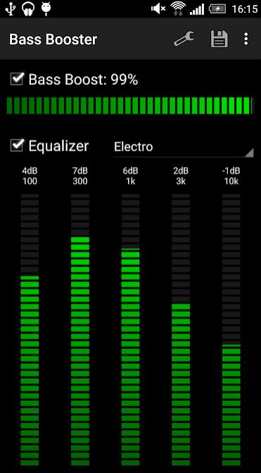 Bass Booster app
