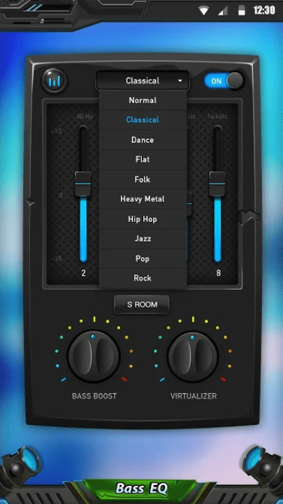Equalizer & Bass Booster app