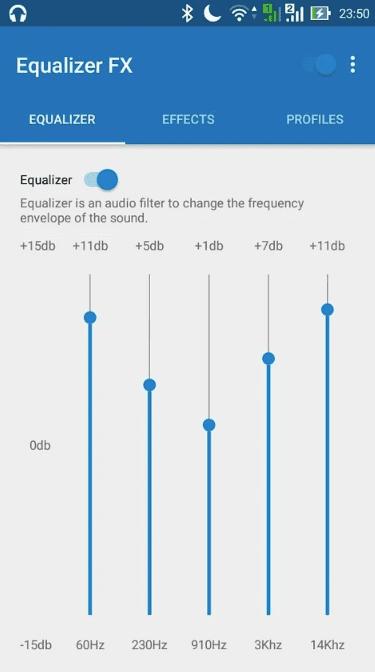 Equalizer FX app