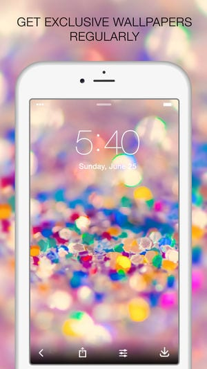 Glitter live wallpaper 1