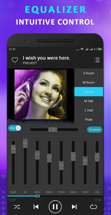 KX Music Player app