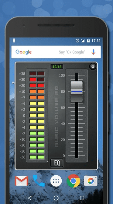 Music Volume EQ app
