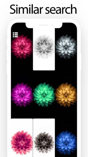 Wallpaper List app