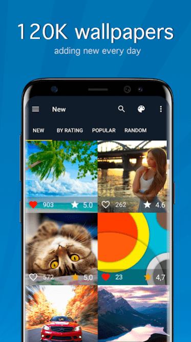 Wallpapers HD & 4K Backgrounds app