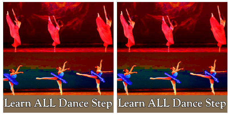 dance easy steps learning screen