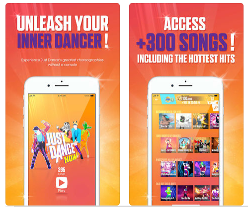 just dance now screen