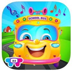 the wheels on the bus musical icon