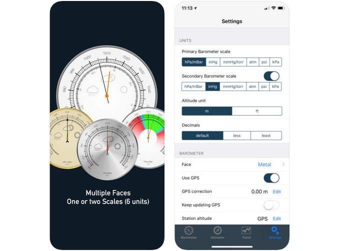 altimeter barometer pro