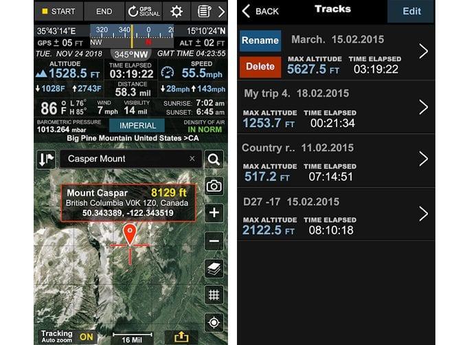 altimeter ler app