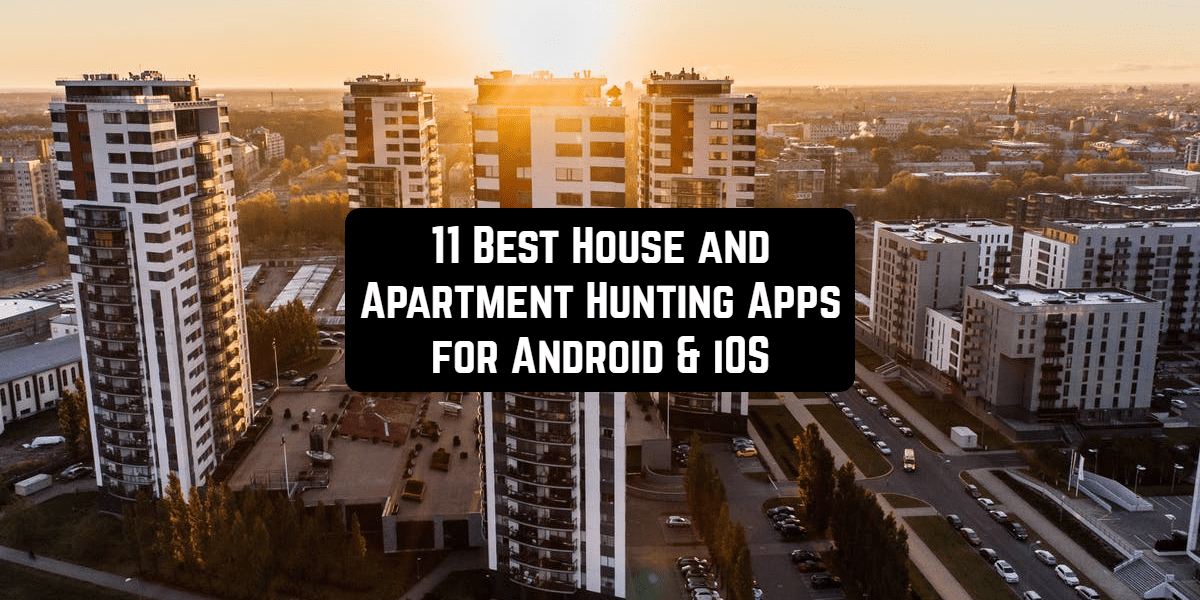 apartment house hunting apps