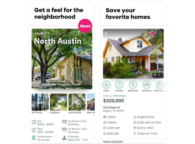 trulia screen