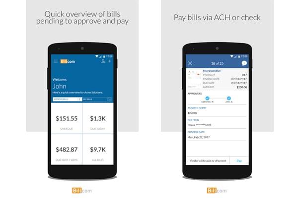 bill.com app