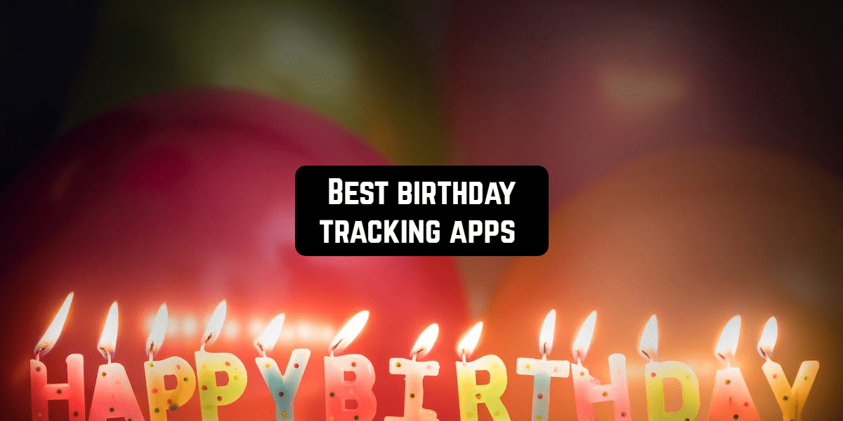 birthday tracking apps front