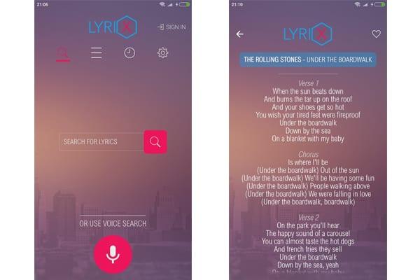 lyrix app