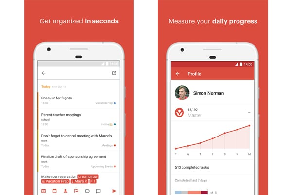 todoist screen
