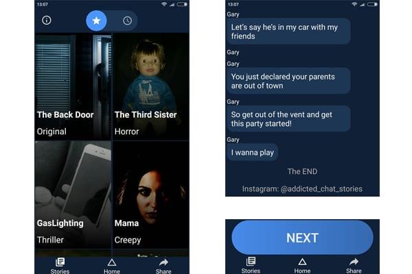 addicted horror stories app