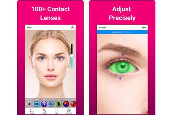eye changer makeup ios