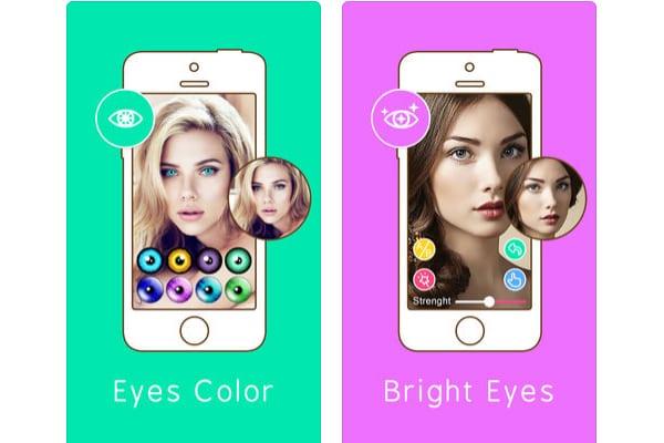 eye color changer ios