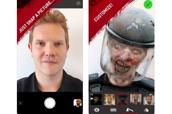 the walking dead dead app