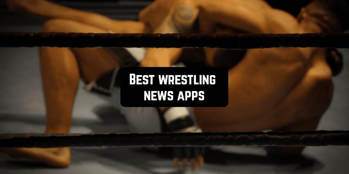 wrestling news app front