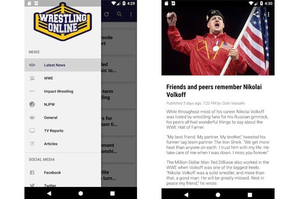 wrestling online app