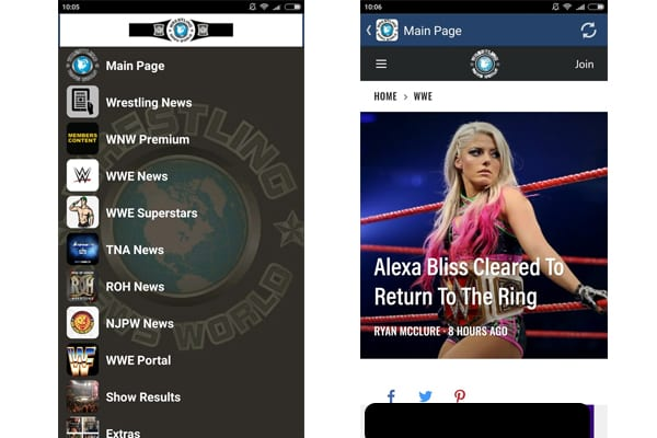 wrestling world app