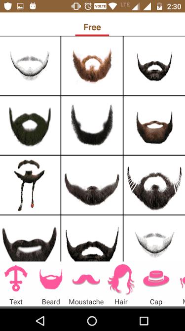 Beard Booth Photo Editor app