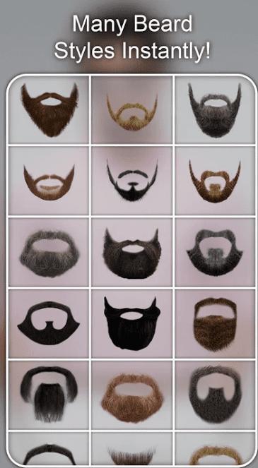 Beard Photo Editor - Beard Cam Live app